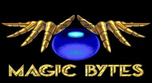 Blue Angel 69 Magic Bytes Logo.