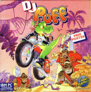 DJ Puff's Volcanic Capers cover