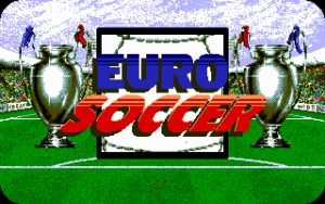 Euro Soccer Title Screen