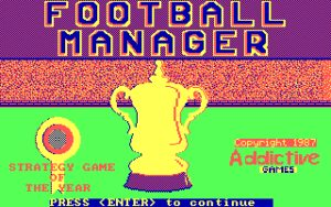 Football Manager Loading Screen.