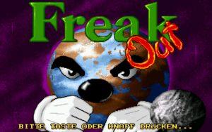 Freak Out Title screen