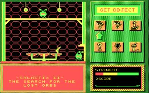 Galactix II: The Search for the Lost Orbs The king impatiently taps his feet. Okay