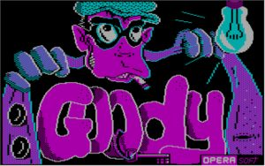 Goody The title screen