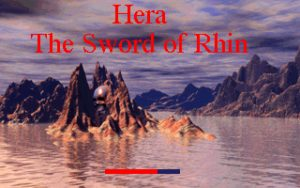Hera: The Sword of Rhin Title Screen