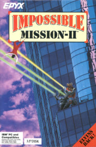 Impossible Mission II cover