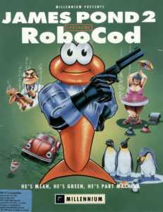 James Pond 2: Codename: RoboCod cover