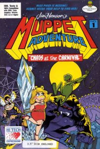 Jim Henson's Muppet Adventure No. 1: Chaos at the Carnival Finished one of the games.