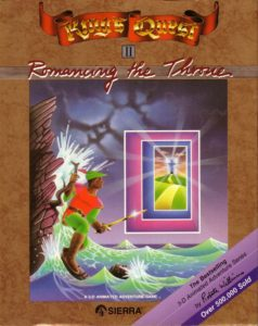 King's Quest II: Romancing the Throne cover