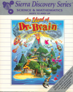 The Island of Dr. Brain cover