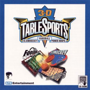3-D Table Sports cover