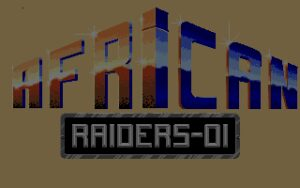 African Raiders 01 Title Screen