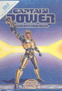 Captain Power and the Soldiers of the Future cover