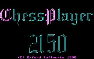 Chess Player 2150 Title screen