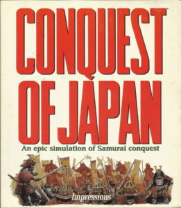 Conquest of Japan cover