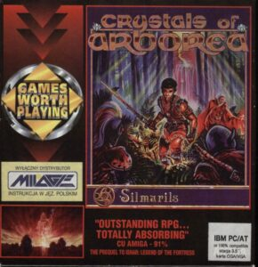 Crystals of Arborea cover