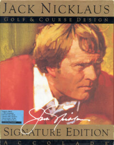 Jack Nicklaus' Golf & Course Design: Signature Edition title screen - MCGA/VGA