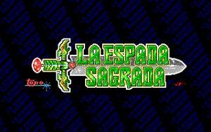 La Espada Sagrada Title Screen