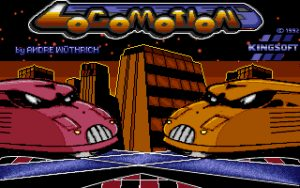 Locomotion Title screen