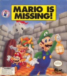 Mario Is Missing! cover