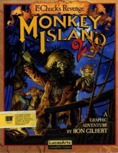 Monkey Island 2: LeChuck's Revenge cover