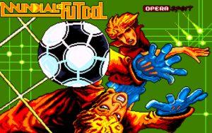 Mundial de Futbol Title screen
