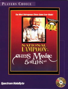 National Lampoon's Chess Maniac 5 Billion and 1 cover