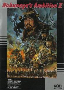 Nobunaga's Ambition II cover