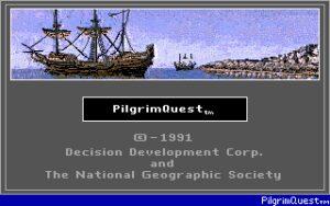 Pilgrim Quest Title Screen