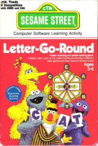 Sesame Street: Letter-Go-Round cover