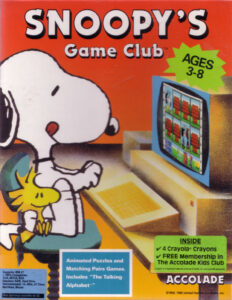 Snoopy's Game Club cover
