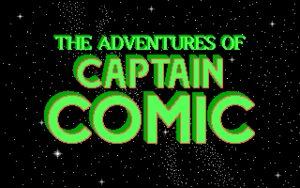 The Adventures of Captain Comic Opening Titles