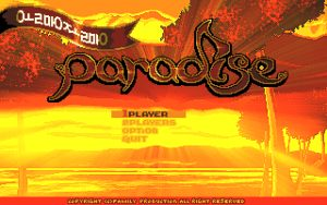 Olmang-Jolmang Paradise Title screen