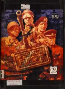 Operation Europe: Path to Victory 1939-45 cover