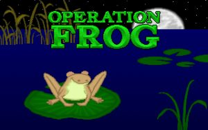 Operation Frog Title screen