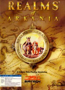 Realms of Arkania: Blade of Destiny cover