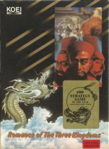 Romance of the Three Kingdoms cover