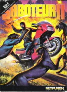 Saboteur II: Avenging Angel cover