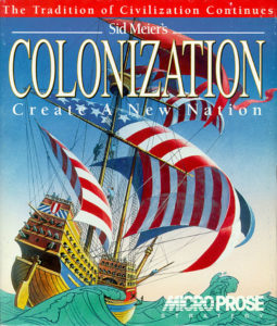 Sid Meier's Colonization cover