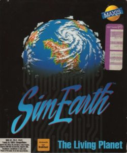 SimEarth: The Living Planet cover