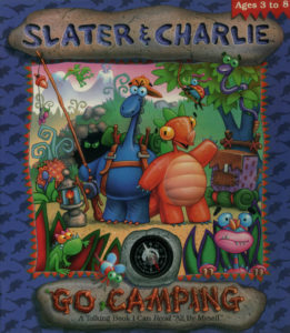 Slater and Charley Go Camping cover