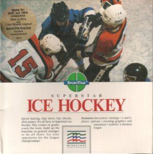 Superstar Ice Hockey cover