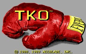 TKO Title screen