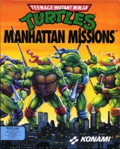 Teenage Mutant Ninja Turtles: Manhattan Missions cover