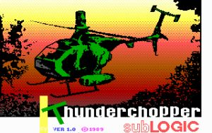 Thunderchopper Title screen
