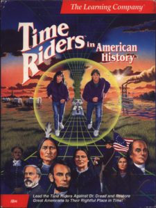 Time Riders in American History cover