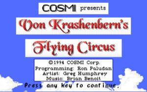 Von Krashenbern's Flying Circus screenshot #1