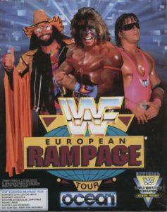WWF European Rampage Tour cover