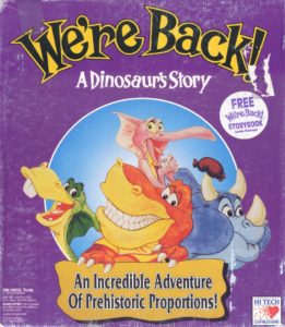 We're Back! A Dinosaur's Story cover