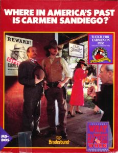 Where in America's Past Is Carmen Sandiego? cover