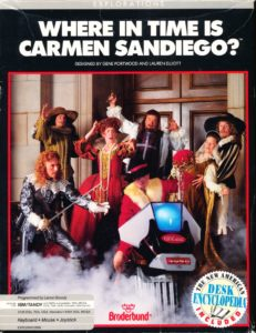 Where in Time Is Carmen Sandiego? cover